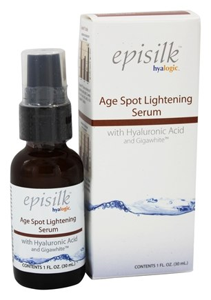 DROPPED: Hyalogic - Episilk Age Spot Lightening (ASL) Serum with Hyaluronic Acid and Gigawhite - 1 oz.