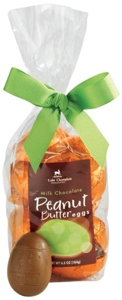 DROPPED: Lake Champlain Chocolates - Easter Eggs Gift Bag Milk Chocolate Peanut Butter - 6.5 oz.
