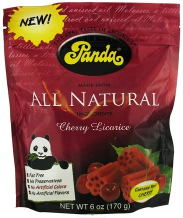 DROPPED: Panda - Licorice Soft Chews Cherry - 6 oz.