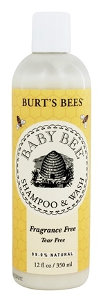 Burt's Bees - Baby Bee Shampoo & Wash Tear Free Fragrance Free - 12 oz.