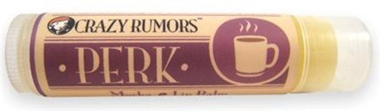 DROPPED: Crazy Rumors - Perk Lip Balm Mocha - 0.15 oz. CLEARANCE PRICED