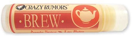 DROPPED: Crazy Rumors - Brew Lip Balm Apple Spice - 0.15 oz. CLEARANCE PRICED