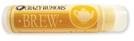 DROPPED: Crazy Rumors - Brew Lip Balm Peppermint Lemongrass - 0.15 oz. CLEARANCE PRICED