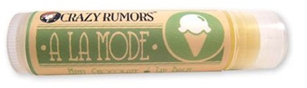 DROPPED: Crazy Rumors - A La Mode Lip Balm Mint Chocolate - 0.15 oz. CLEARANCE PRICED