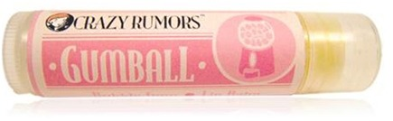 DROPPED: Crazy Rumors - Gumball Lip Balm Bubble Gum - 0.15 oz. CLEARANCE PRICED