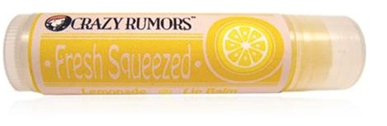 DROPPED: Crazy Rumors - Fresh Squeezed Lip Balm Lemonade - 0.15 oz. CLEARANCE PRICED