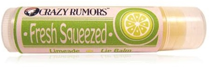DROPPED: Crazy Rumors - Fresh Squeezed Lip Balm Limeade - 0.15 oz. CLEARANCE PRICED