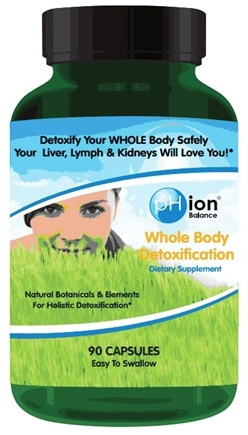 DROPPED: pHion Balance - Whole Body Detoxification - 90 Capsules