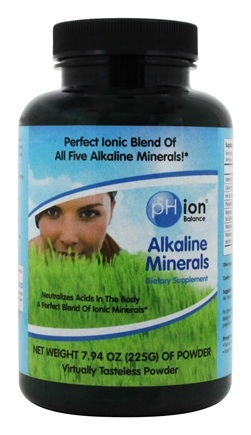 Zoom View - Alkaline Minerals Powder