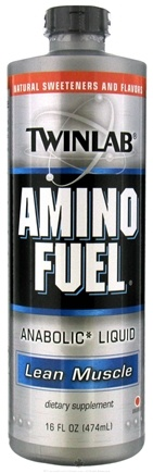 DROPPED: Twinlab - Amino Fuel Liquid Orange - 16 oz. CLEARANCE PRICED