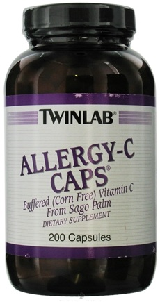 DROPPED: Twinlab - Allergy-C Caps - 200 Capsules