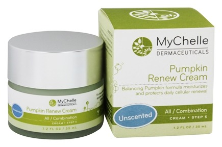 DROPPED: MyChelle Dermaceuticals - Pumpkin Renew Cream Combination Step 5 Unscented - 1.2 oz.
