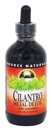 Source Naturals - Cilantro Metal Detox - 4 oz.