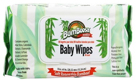 Bumboosa - Bamboo Baby Wipes - 80 Wipe(s)