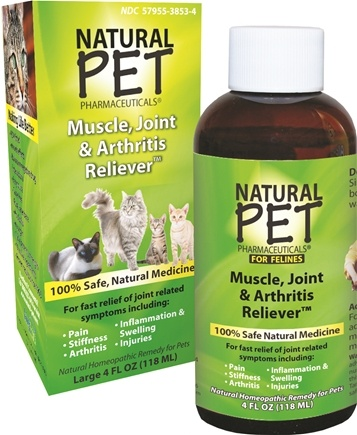 DROPPED: King Bio - Natural Pet Muscle, Joint & Arthritis Reliever For Felines Large - 4 oz.
