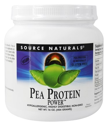 Source Naturals - Pea Protein Power Gluten-Free - 16 oz.