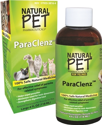 DROPPED: King Bio - Natural Pet ParaClenz For Felines Large - 4 oz. CLEARANCE PRICED