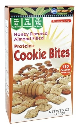 Kay's Naturals - Protein + Cookie Bites Almond Filled Honey Flavored - 5 oz.