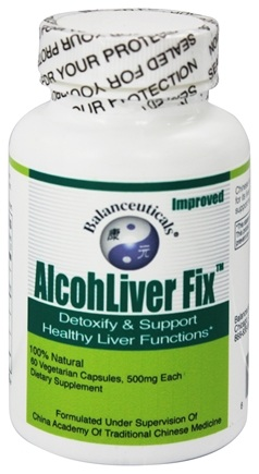 Zoom View - Alcohliver Fix Detoxify & Restore Healthy Liver Functions