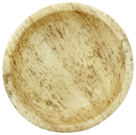 "DROPPED: Bamboo Studio - Bamboo Dinnerware Round Bowl Reusable Disposable 7.06"" - 8 Pack CLEARANCE PRICED"