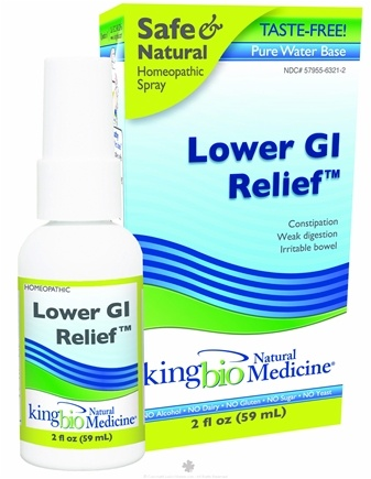 DROPPED: King Bio - Homeopathic Natural Medicine Lower GI Restoration Relief - 2 oz. formerly Restoration Restoring Intestinal Integrity