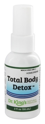 King Bio - Homeopathic Natural Medicine Total Body Detox - 2 oz.