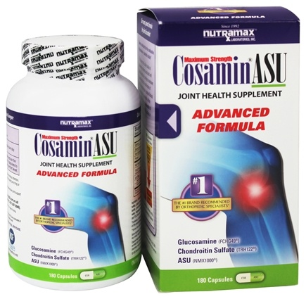 DROPPED: Cosamin - ASU Joint Health Supplement Advanced Formula - 180 Capsules