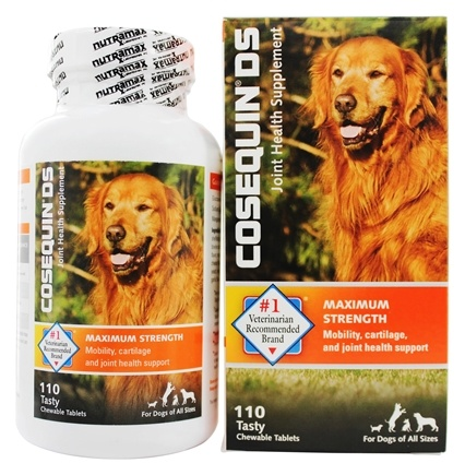 DROPPED: Cosequin - DS Maximum Strength Joint Health Supplement for Dogs - 110 Chewable Tablets