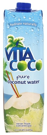 Vita Coco - Coconut Water 100% Pure (34 oz.) Unflavored - 1 Liter