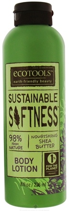 DROPPED: Eco Tools - Sustainable Softness Body Lotion Nourishing Shea Butter - 8 oz. CLEARANCE PRICED