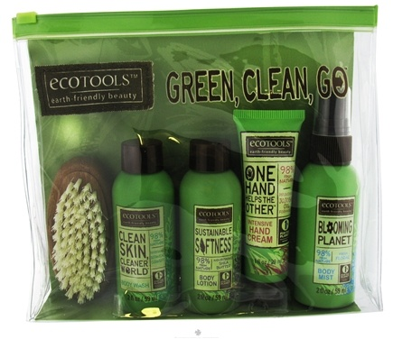 DROPPED: Eco Tools - Green Clean Go Travel Sampler Kit - CLEARANCE PRICED