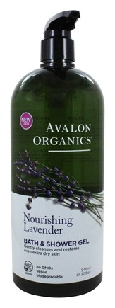 Avalon Organics - Bath & Shower Gel Lavender - 32 oz.