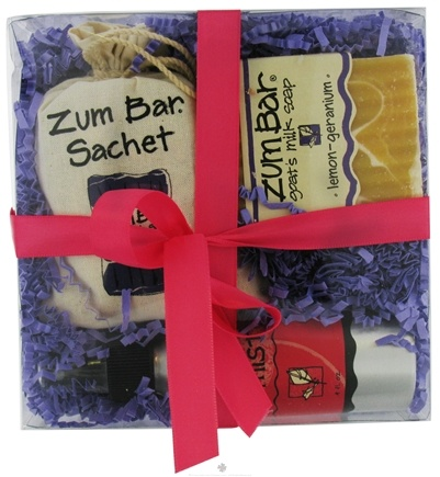 DROPPED: Indigo Wild - Zum Gift Pack Lemon-Geranium - CLEARANCE PRICED