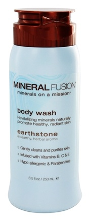 Mineral Fusion - Mineral Body Wash Earthstone - 8.5 oz.