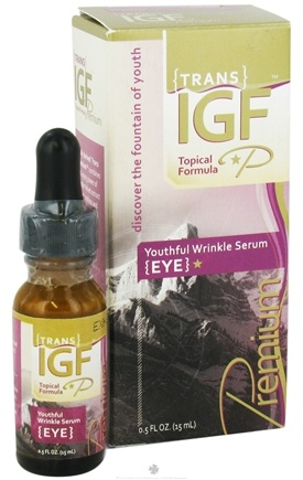 Zoom View - Trans-IGF Premium Youthful Eye Serum Deer Velvet Antler Extract