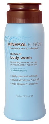 DROPPED: Mineral Fusion - Mineral Body Wash Waterstone - 8.5 oz. CLEARANCE PRICED
