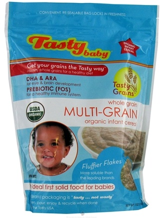 DROPPED: Tasty Baby - Tasty Grains Multi-Grain Organic Infant Cereal - 7 oz.