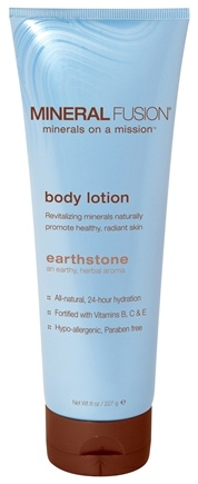 DROPPED: Mineral Fusion - Mineral Body Lotion Earthstone - 8 oz.