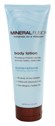 Mineral Fusion - Mineral Body Lotion Waterstone - 8 oz.