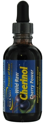 DROPPED: North American Herb & Spice - Power Of Raw Wild Raw Cherinol Extract Cherry Power - 2 oz.