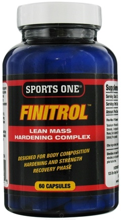 DROPPED: Sports One - Finitrol Lean Mass Hardening Complex - 60 Capsules CLEARANCE PRICED