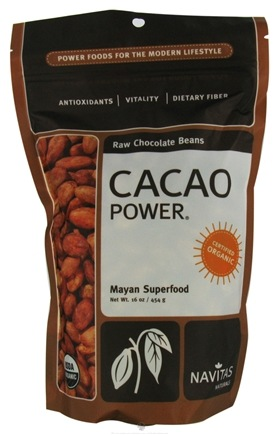 DROPPED: Navitas Naturals - Cacao Raw Chocolate Beans - 16 oz.
