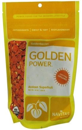 DROPPED: Navitas Naturals - Golden Power Goldenberries Certified Organic - 16 oz.