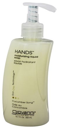 Giovanni - Hands Liquid Soap Moisturizing Cucumber Song - 10.1 oz.