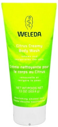 DROPPED: Weleda - Citrus Creamy Body Wash - 7.2 oz.