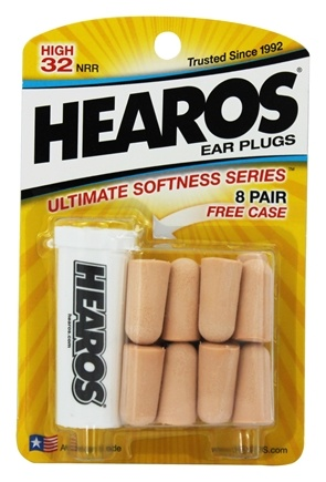 DROPPED: Hearos - Ear Plugs Ultimate Softness Series 8 Pairs