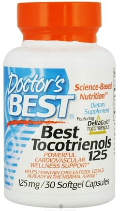 DROPPED: Doctor's Best - Best Tocotrienols 125 mg. - 30 Softgels