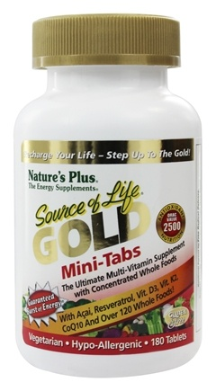 Zoom View - Source Of Life Gold Mini-Tabs Ultimate Multi-Vitamin