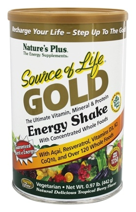 Zoom View - Source Of Life Gold Energy Shake Ultimate Vitamin Mineral & Protein
