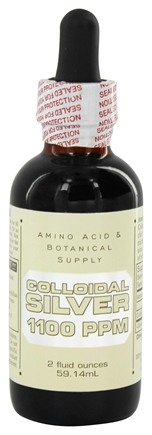 Amino Acid & Botanical - Colloidal Silver 1100 Ppm - 2 oz.